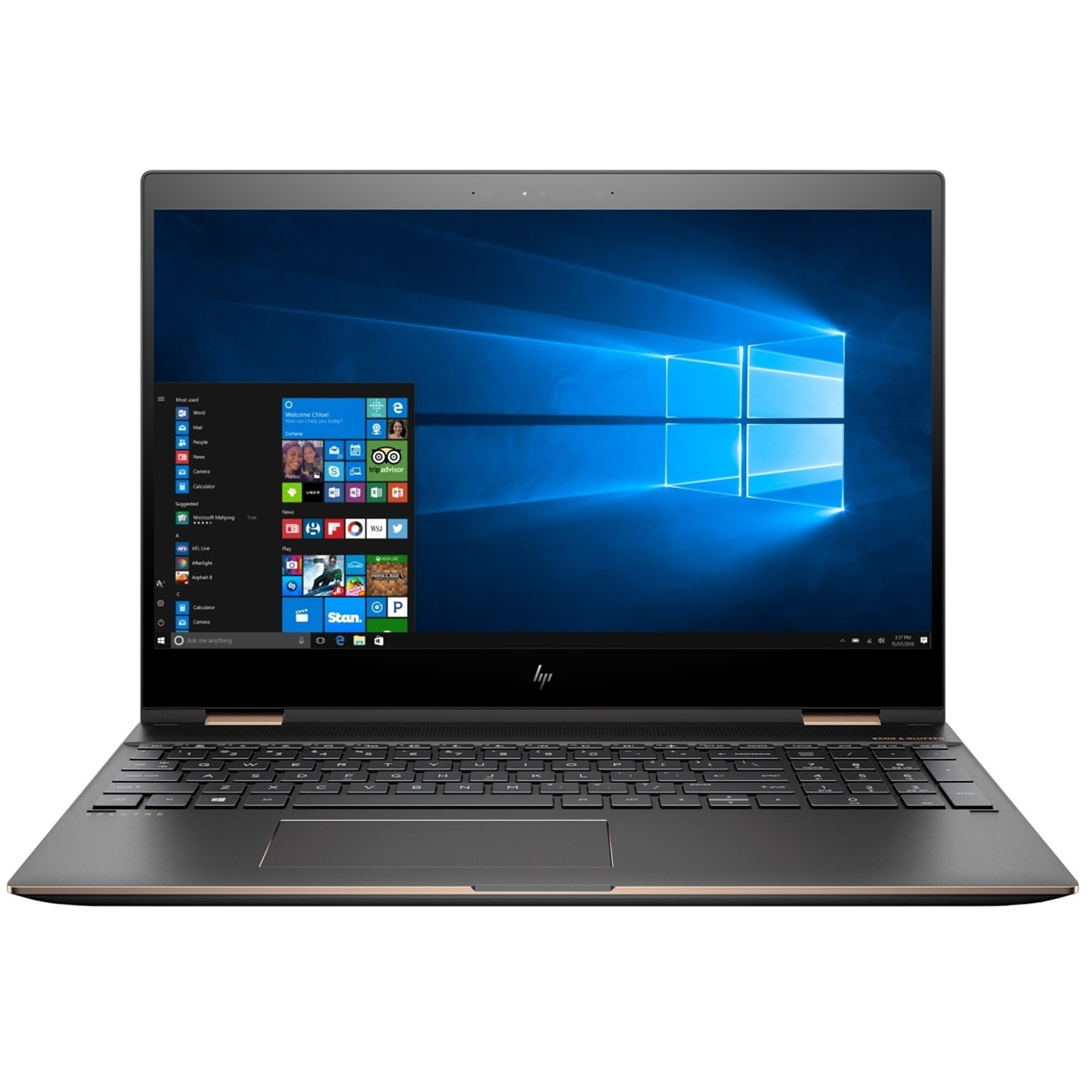 HP New Spectre x360 Top Entertainment Ultrabook 15.6