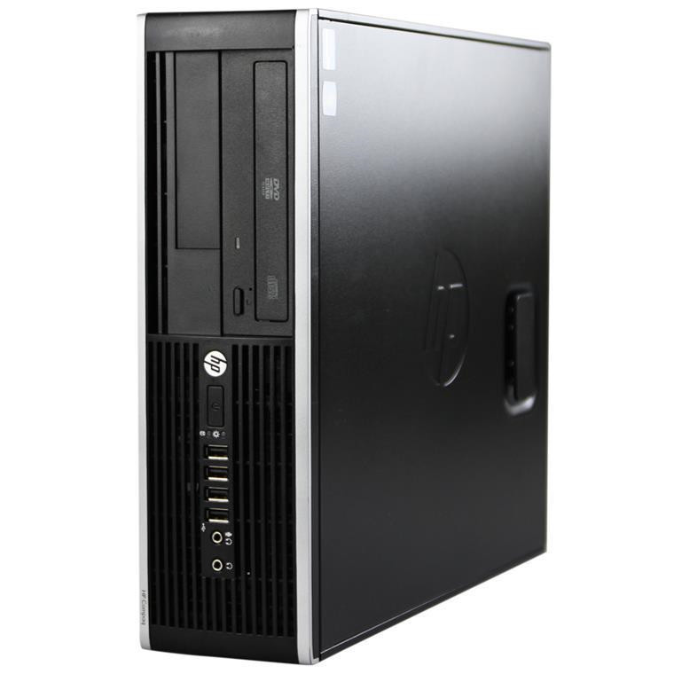 HP Elite 8300 Desktop PC (A Grade OFF-LEASE) Business SFF Intel Core i5 4GB 500GB DVDROM Win7Pro 64bit - Reconditioned by PBTech, 3 Months Warranty