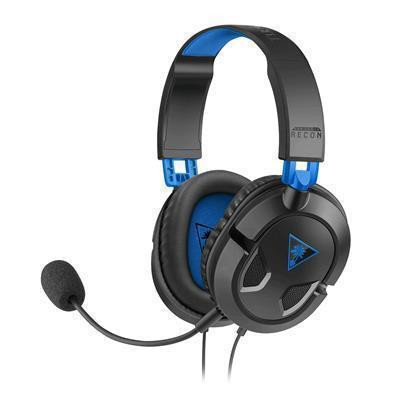 Turtle Beach Ear Force Recon 50P Stereo Gaming Headset for PlayStation 4, Xbox One (compatible with new Xbox One Controller), PC/Mac, and mobile devices